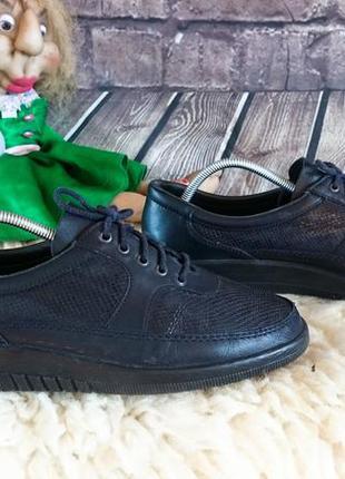 Туфли из натуральной кожи remonte lofers. натуральная кожа. шв...