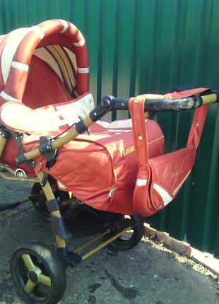 Детская коляска-трансформер всесезонная