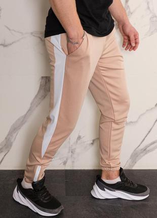 Спортивные штаны тур rocky beige-white