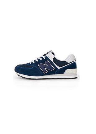 Синие кроссовки new balance 574 new balance
