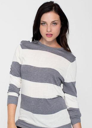 Джемпер,пуловер в полоску