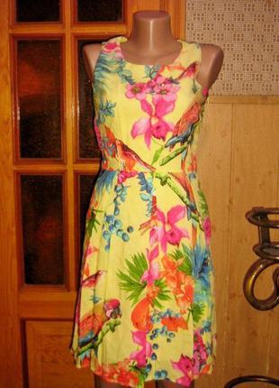 Качество!!! натуральное платье от kaktus moda