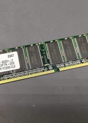 Оперативная память Samsung 256 mb DDR pc3200 CL3