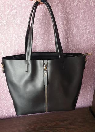 Женская сумка. экокожа