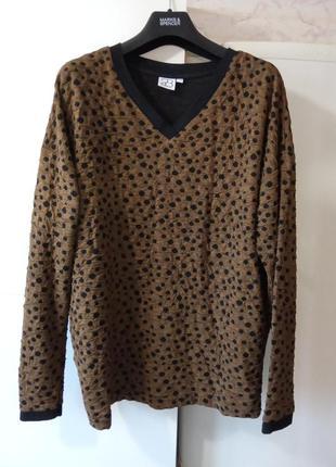 Фактурный свитшот джемпер свитер р. s/m 2-biz дания