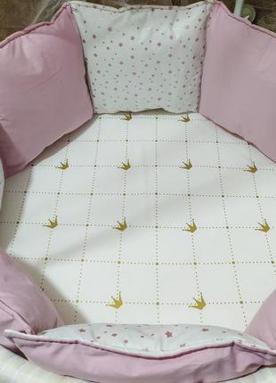 Бортики в кроватку, бортики в ліжечко