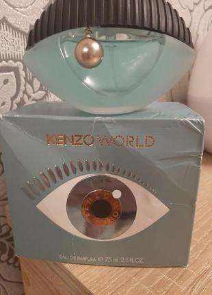!оригинал!75мл kenzo world kenzo парфюмированная вода