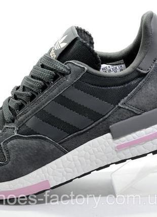 Кроссовки унисекс Adidas ZX500 RM Boost, Серый/Розовый, купить