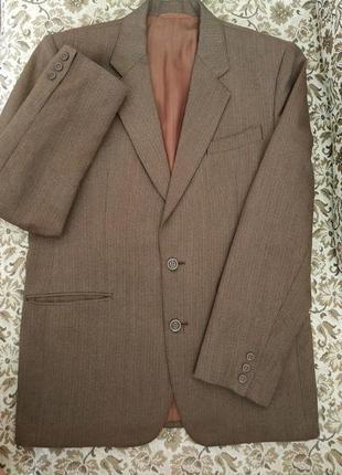 Пиджак мужской шерстяной в винтажном стиле 🔥горячие скидки -50%