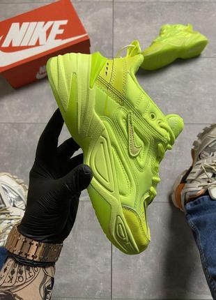 Nike m2k tekno lime green.