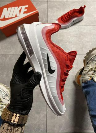 Nike air max axis red/white.