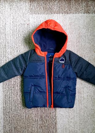 Фирменная  Tom Tailor куртка парка демисезонная утепленная