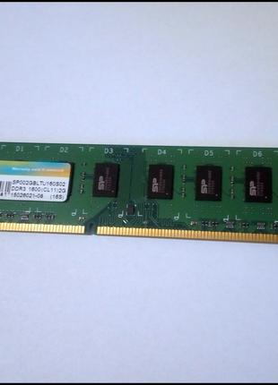 DDR3 2Gb 1600 Silicon Power 1.5v