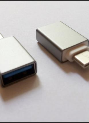 USB 3.1 Type C - USB 3.0 OTG Переходник Опубликовано 15.03.20