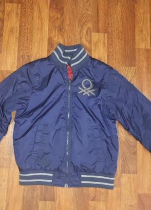 Демисезонная куртка benetton 140