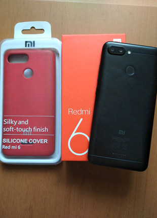 Продам телефон Xiaomi Redmi 6 4/64GB