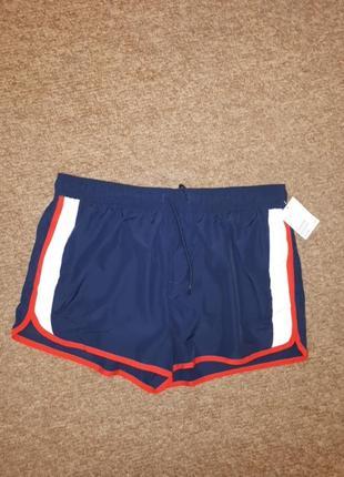 Пляжные шорты н&м размер l