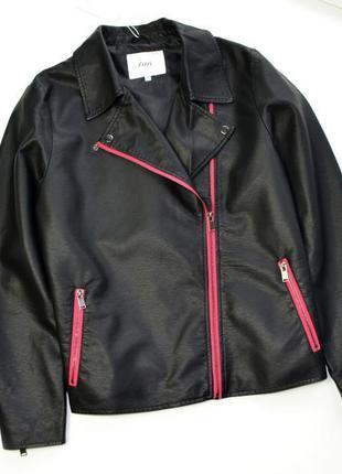 Черная куртка косуха zizzi