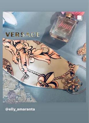 Маска , шёлк Versace, детская маска