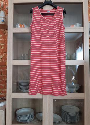 Милое натуральное платье большого размера