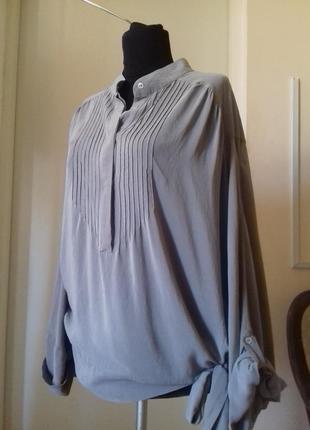 Шелковая блуза)