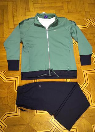 Женский спортивный костюм тройка billcee большие размеры