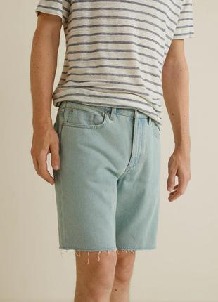 Нові джинсові шорти mango р. 42