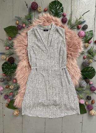 Актуальное легкое летнее платье рубашка №429