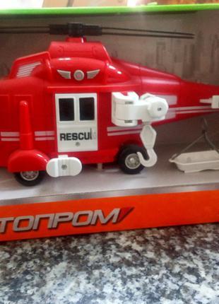 Игрушки Вертолеты АВТОПРОМ