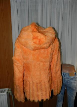 Куртка шуба кожа мех