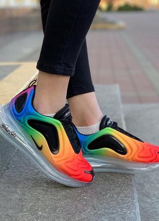 Nike air max 720 радужные ♦ женские кроссовки ♦ весна лето осень