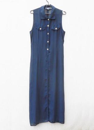 Летнее  пляжное платье рубашка  туника пляжная парео  image