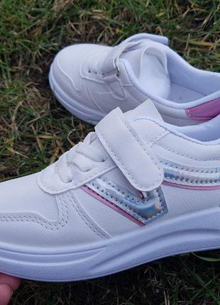 Кроссвоки для девочки с шнурками-резинками наложка обмен возврат