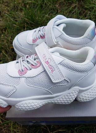 Модные кроссовки кеды для девочки с супинатором р.27-32 наложк...