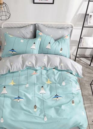 Подростковый комплект постельного белья № 19005