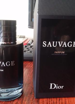 Мужские духи Christian Dior Sauvage Parfum 100 ml original