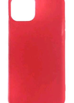 Чехол красний для iPhone 11 PRO з склом 9D преміум качества