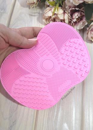 -30% коврик мат для мытья кистей для макияжа силиконовый на пр...