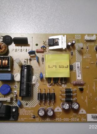 715G6550-P03-000-002М Плата питания ЖК телевизора Philips