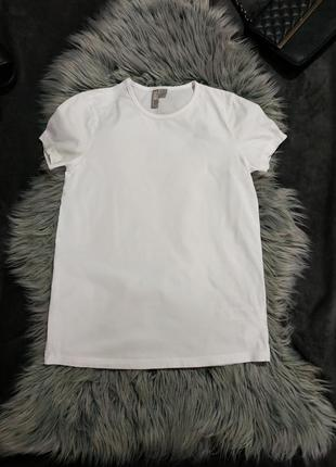 Белая коттоновая футболка asos