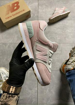 New Balance 574, Pink