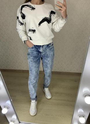 Плотные джинсы mom topshop