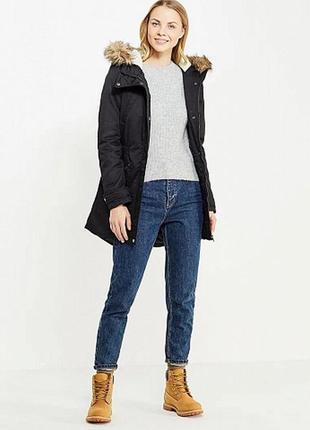 Короткая нейлоновая куртка-бомбер от only
