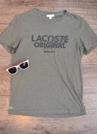 Оригинальная футболка  свежие коллекции  lacosta ®regular fit ...