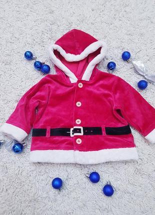 Кофта в новогодний принт, одежда на праздник