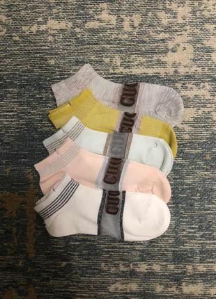 Носки в стиле gucci, новые!