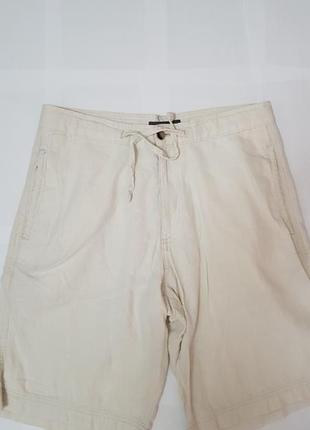 Льняные мужские шорты m&s