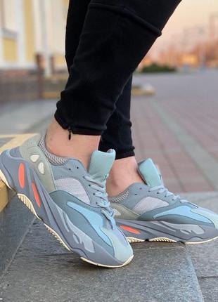 Adidas yeezy boost 700 inertia 🔺 женские кроссовки адидас изи ...