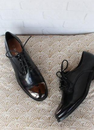 Туфли на шнурках, оксфорды, броги 38, 39, 40 размера