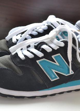 New balance 373 nb 38р кроссовки кожаные. оригинал как 574
